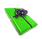 Wrapped gift Royalty Free Stock Images