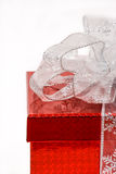 Wrapped gift box Stock Images