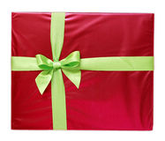 Wrapped gift Royalty Free Stock Photos