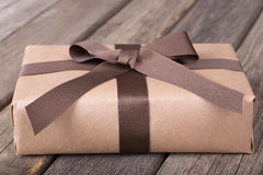 Wrapped Gift Package Royalty Free Stock Photography
