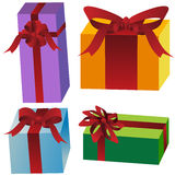 Wrapped Gifts Stock Photos