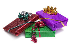 Wrapped gifts Stock Photography