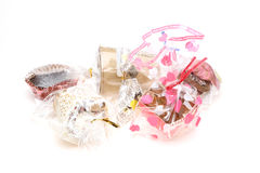 Wrapped handmade sweets Royalty Free Stock Photo