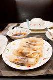 Wrapped Peking Duck. A wrapped presentation of peking duck Chinese cuisine Stock Image