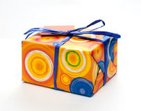 Wrapped present Stock Photography