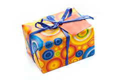 Wrapped present Stock Images