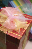 Wrapped present Stock Photo