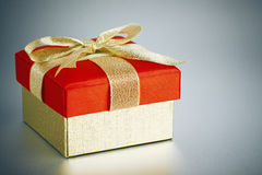 Wrapped present or gift Royalty Free Stock Photos