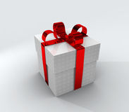 Wrapped present of gift Royalty Free Stock Photos