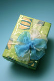 Wrapped present Royalty Free Stock Photo