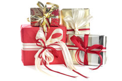 Wrapped presents Stock Images