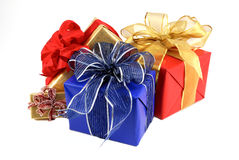 Wrapped Presents Stock Image
