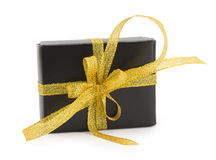 Wrapped presents with bows and ribbons Royalty Free Stock Image