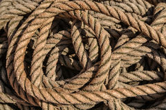 Wrapped rope Stock Photo