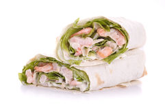 Wrapped sandwich Stock Photography