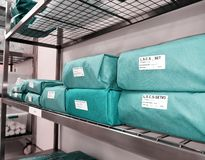 Wrapped Sterile Sets royalty free stock photos