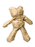 Wrapped in Teddy Bear Royalty Free Stock Photo