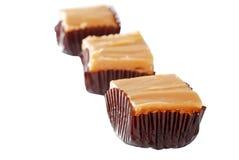 Wrapped vanilla fudge Royalty Free Stock Photos