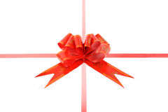 Wrapping bowknot Royalty Free Stock Photography