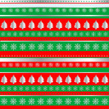 Wrapping Christmas paper Royalty Free Stock Images