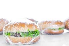 Wrapping Hamburger Royalty Free Stock Photography