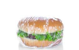 Wrapping Hamburger Royalty Free Stock Image