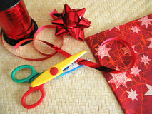 Wrapping kit Stock Photography