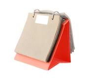 Wrapping Leather Catalog isolated on white background Stock Photo