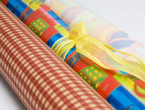 Wrapping Paper Stock Images