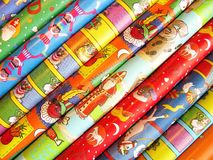 Wrapping paper Royalty Free Stock Photography
