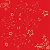 Wrapping paper. Illustration of christmas wrapping paper Stock Photos