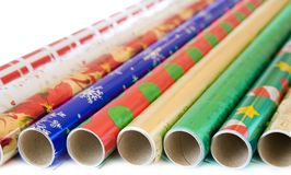 Wrapping paper Royalty Free Stock Images