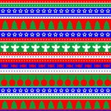Wrapping paper background for Christmas gifts Stock Photos