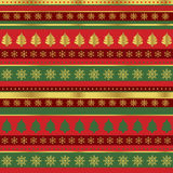 Wrapping paper for Christmas Stock Photography
