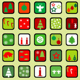 Wrapping paper for Christmas Royalty Free Stock Photos