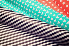 Wrapping paper Stock Photography