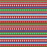 Wrapping paper for Christmas. With Christmas elements Royalty Free Stock Images