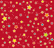 Wrapping paper design with stars royalty free stock photo
