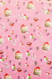 Wrapping paper for gift box. Royalty Free Stock Photography