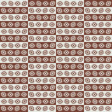 Wrapping paper retro pattern Stock Photography