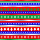 Wrapping paper seamless pattern for Christmas Royalty Free Stock Image