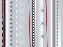 Wrapping paper silver Stock Images