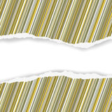 Wrapping paper torn with a space for your text vector background Stock Photography