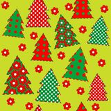 Wrapping paper for your Christmas, seamless pattern Stock Images