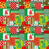Wrapping paper for your Christmas Royalty Free Stock Photography