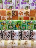 Wrapping papers Royalty Free Stock Photography