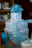 Wrapping Presents Royalty Free Stock Photo