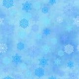 Wrapping Vintage Paper Snowflake Seamless Pattern Royalty Free Stock Photos