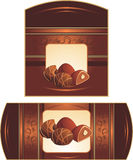 wrappings ек шоколада конфет Стоковые Фото