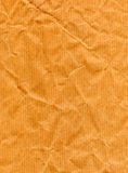 Wrappinh paper. Old wrapping brown recycled paper Stock Image